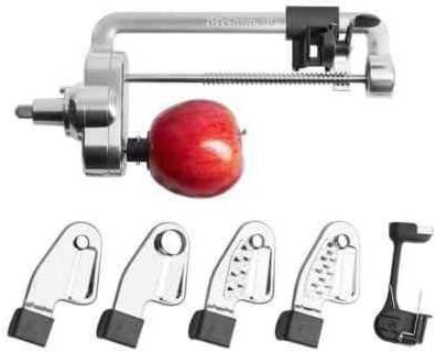 KitchenAid Espiralizador Cortador pelador Accesorio 5KSM1APC. Original. Valido para Todos los Modelos de Robots de Cocina Garantía Española: Amazon.es: Hogar