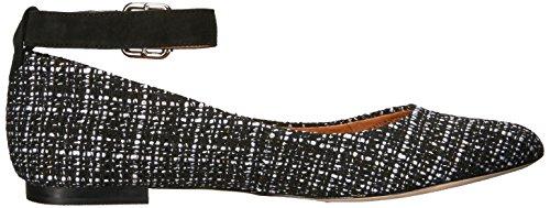white Opportunity Corso Black Shoes Ramona Tweed Women's Ballet Como w1nT0qz1