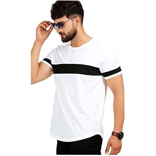 41c9UP2oTRL. SS500  - AELOMART Men's Regular Fit T-Shirt