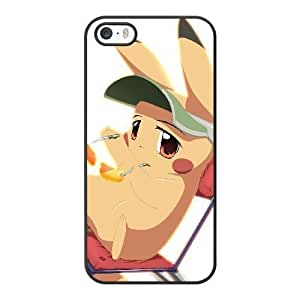 HD exquisite image for iPhone 5 5s Cell Phone Case Black pikachu pokemon AMI6491219