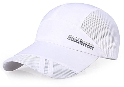 Baseball Cap Quick Dry Mesh Back Cooling Sun Hats Sports Caps for Golf Cycling Running Fishing
