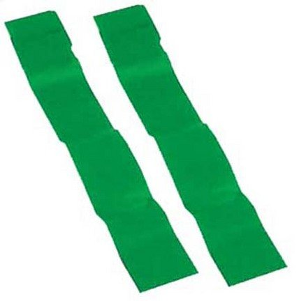 Olympia Sports Replacement Green Flag Football Flags - 3 Sets of 12 Pairs (36 Pair Total)