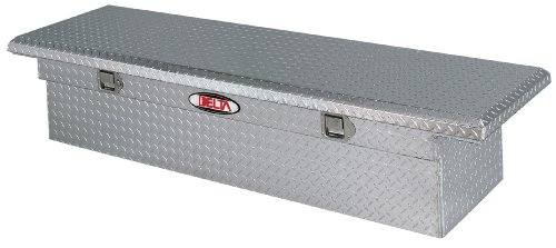 Delta 1-310000 Mid Size Bright Aluminum Low-Profile Single Lid Crossover Truck Box
