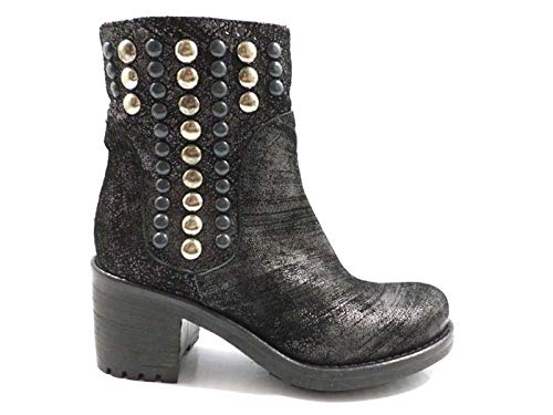 - GIANCARLO PAOLI Boots Womens Suede Black