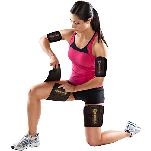 TNT Body Wraps for Arms and Slimmer Thighs Lose Arm Fat & Reduce Cellulite 4 Piece Kit