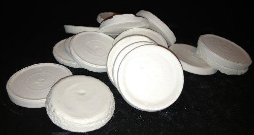 ReefCreators.com 20 Ceramic Coral Frag Disks Fired Ceramic Frag Disks