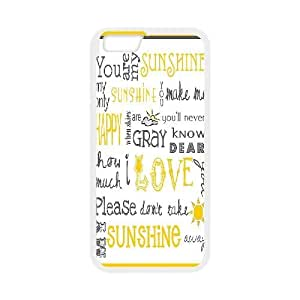 "Personalized Cover Case for Iphone6 4.7"" with You are my sunshine shsu_7648955 at SHSHU"