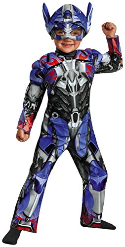 Transformer Optimus Prime Costumes (Disguise Transformers Age of Extinction Toddler Muscle Costume Medium -)