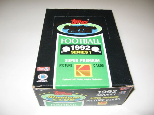 (1992 Topps Stadium Club Football Series 1 Box)