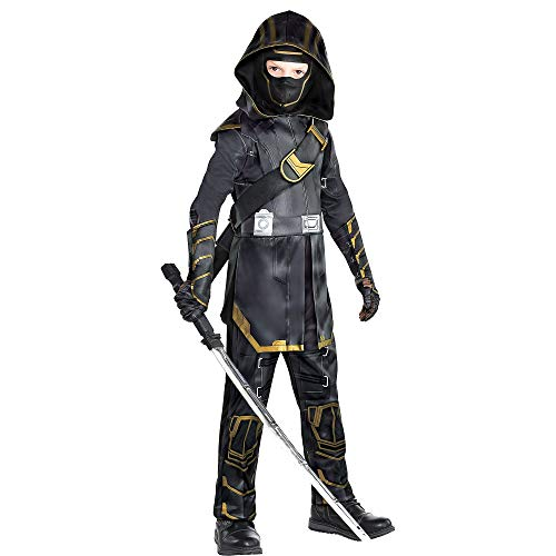 Party City Avengers: Endgame Ronin Costume for Children, Size Medium, Includes a Jumpsuit, a Hood, Gloves, and a Mask]()