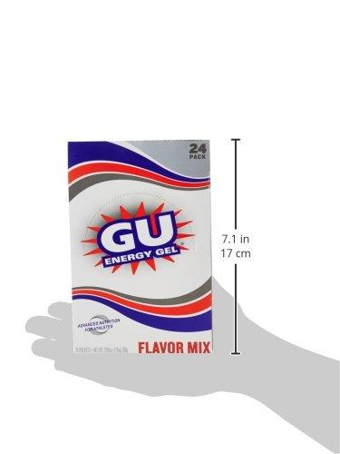 GU Original Sports Nutrition Energy Gel Variety Pack, 24 Count