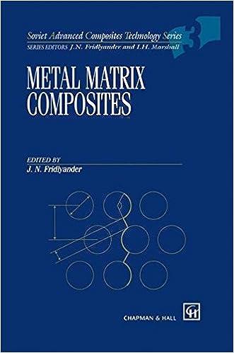 Download Metal Matrix Composites (Soviet Advanced Composites Technology Series) PDF, azw (Kindle), ePub