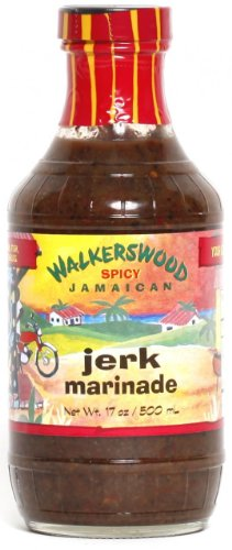 Walkerswood Jamaican Jerk Marinade, 17-Ounce Bottles (Pack of 3)
