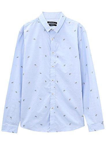 meters-bonwe-mens-fashion-slim-fit-long-sleeve-button-down-printed-shirt-blue-l