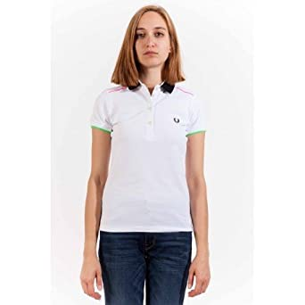 Fred Perry - Camiseta sin mangas - para mujer multicolor XL ...