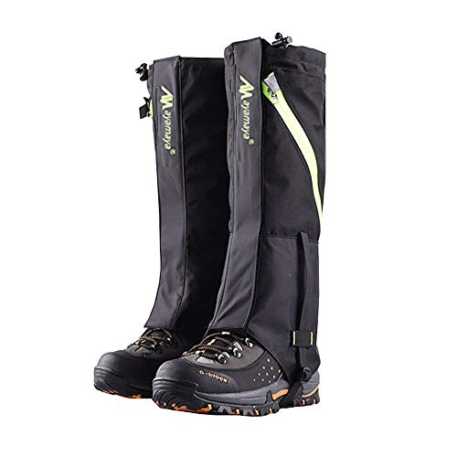 AYAMAYA Hiking Gaiters Waterproof Boot Snow Gaitors, Hiking Equipment Breathable High Boots Shoes Cover Leg Protection Guard, Anti Dust/Mud/Debris/Rock/Bush Snow Gaiters Hunting by AYAMAYA