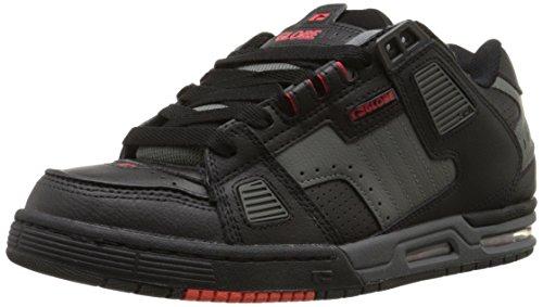 Globe Sabre Skateboard Shoes Black Charcoal Infrared
