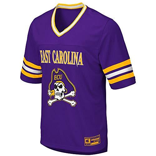 Colosseum Mens ECU East Carolina Pirates Football Jersey - L