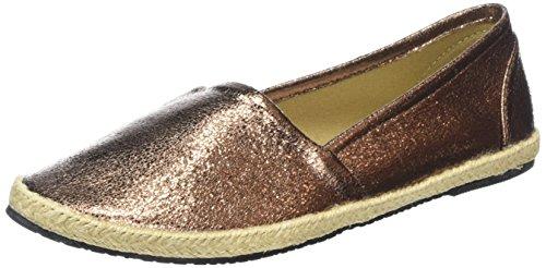 Buffalo Shoes 327423 LH-129, Damen Espadrilles, Braun (BRONZE), 40 EU