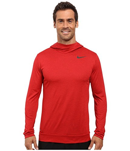 Nike Dry Training Hoodie Night Maroon/Gym Red/Black Men's Clothing XXL