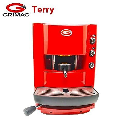 Máquina de café para monodosis grimac roja: Amazon.es: Bricolaje y herramientas