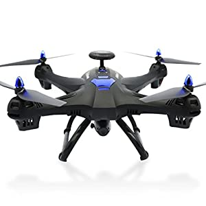 Binmer(TM) Global Drone X183 With 5GHz WiFi FPV 1080P Camera GPS Brushless Quadcopter Teens Adult Toys Gift by Binmer(TM)