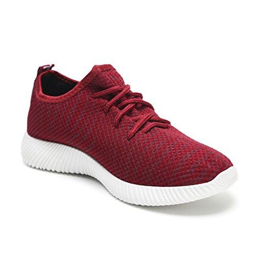 Casual Sportive Leggero Rosso da Hawkwell Ginnastica Sneakers Donna Scarpe q6Ew6BT