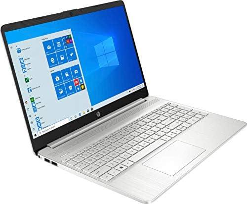 "2020 HP 15.6"" Touchscreen Laptop Computer/ 10th Gen Intel Quard-Core i5 1035G1 up to 3.6GHz/ 12GB DDR4 RAM/ 256GB PCIe SSD/ 802.11ac WiFi/ Bluetooth 4.2/ USB 3.1 Type-C/ HDMI/ Silver/ Windows 10 Home WeeklyReviewer"