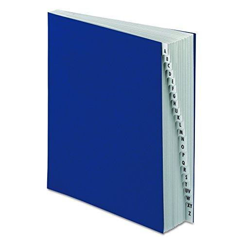 (Pendaflex DDF3OX Expanding Desk File, A-Z, Letter Size, Acrylic-Coated Pressboard, Dark Blue)