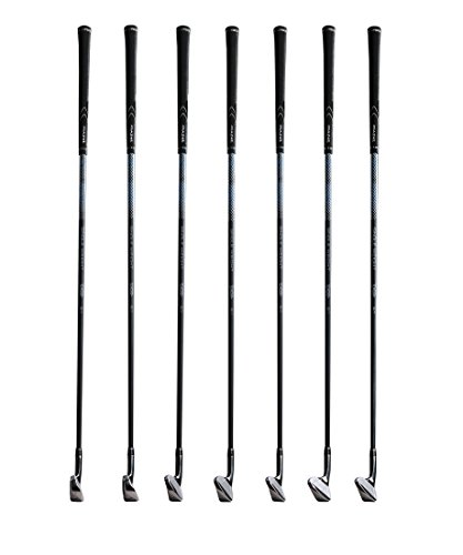MAZEL Single Length Golf Irons for Men 6,7,8,9,PW,AW,SW ,Left or Right Handed,7 Pieces