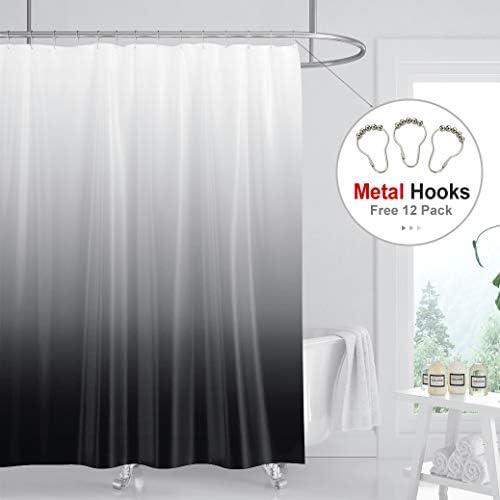 Riyidecor Curtain Polyester Waterproof Bathroom product image