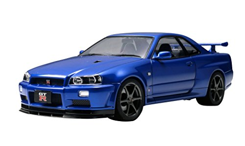 Tamiya Nissan Skyline GT-R R34 V-Spec II 1/24 Scale Model Kit 24258