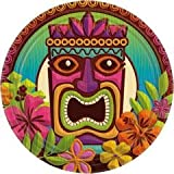 Tropical Tiki 9'' Plates