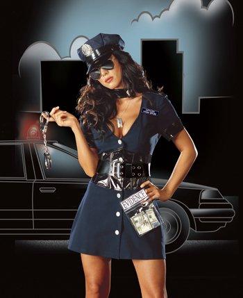 Corrupt Cop Adult Costume - Large -