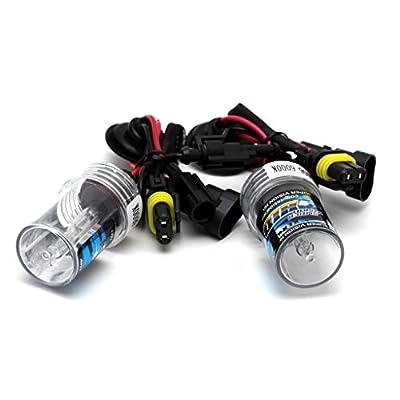 HuntGold 2X Car HID Xenon Headlight Replacement Bulbs Lamp 55W 9006 8000K