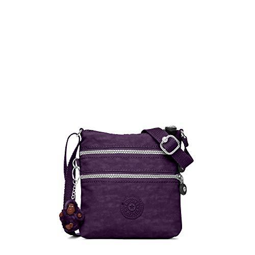 Kipling Deep Cross Alvar Purple Body Bag wxvqZwURF