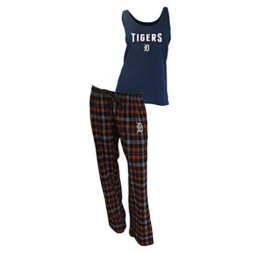 (College Concepts Women's Detroit Tigers Tank and Pajama Pants Set)