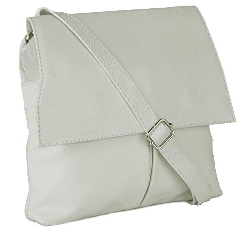 Big hombre One para al blanco Shop hombro Handbag cuero Bolso crema de 78rg7wxzq