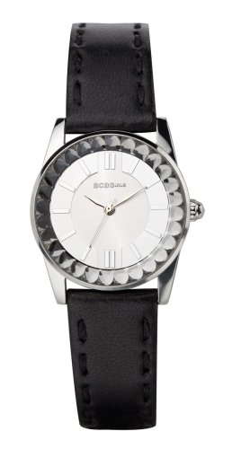 BCBGirls Women's GL2013 Crystal Accented Cool Contrast Collection (Bcbg Womens Crystal Watch)
