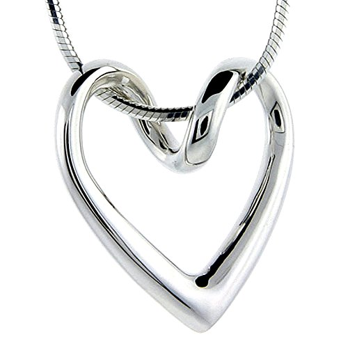 Sterling Silver Floating Necklace Flawless