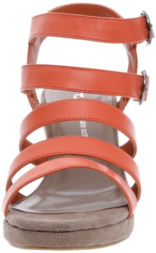 Coral Women's Chocolate sandals Schubar Jack w7HqWXI4
