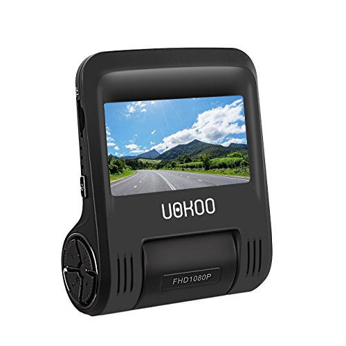 "Car Dash Cam Dashboard Camera Recorder with 2.4"" LCD, Screen Full HD 1080P, 170 Degree Wide-Angle View Lens Car Camera, Built-In WiFi, G-Sensor, WDR, Loop Recording, Motion detection, Car Charger"
