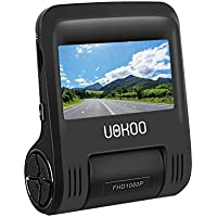 "Car Dash Cam - Dashboard Camera Recorder with 2.4"" LCD, 1080P FHD, 170 Degree Wide-Angle View Lens Car Camera, Built-In WiFi, G-Sensor, WDR, Loop Recording, Motion detection, Car Charger"