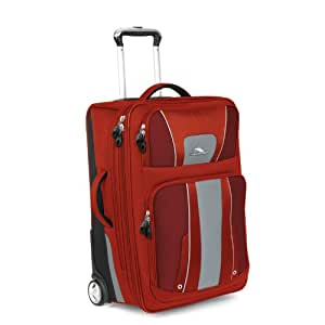 High Sierra Evolution 25-Inch Wheeled Upright Suitcase, Lava