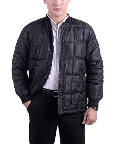 Short Warm Winter Down Lightweight Men Down Quilted Jacket Down Jackets Brands Fashion Winter Coat Schwarz Jackets BOLAWOO Long Jacket Thick Sleeve Quilted R6zqtxppw