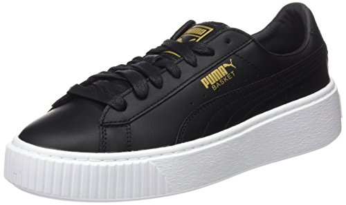 Para Mujer Core gold Eu Puma Basket black Platform Zapatillas Negro IqBqavZ