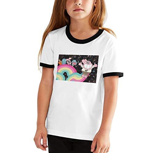 Rusuanjun The Amazing World of Gumball Teen T-Shirt