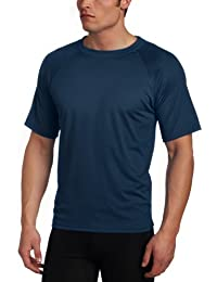 Men's Short Sleeve UPF 50+ Swim Shirt (Regular & Extended...
