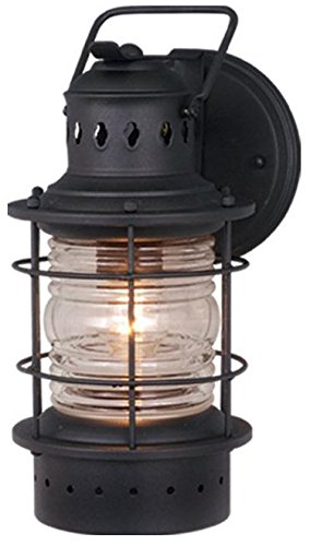 Vaxcel OW37051TB Hyannis 6 Inch Outdoor Wall Light, Black