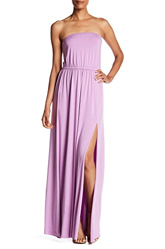 Rachel Pally Luletta Strapless Maxi Dress For Women In Lavender, Small